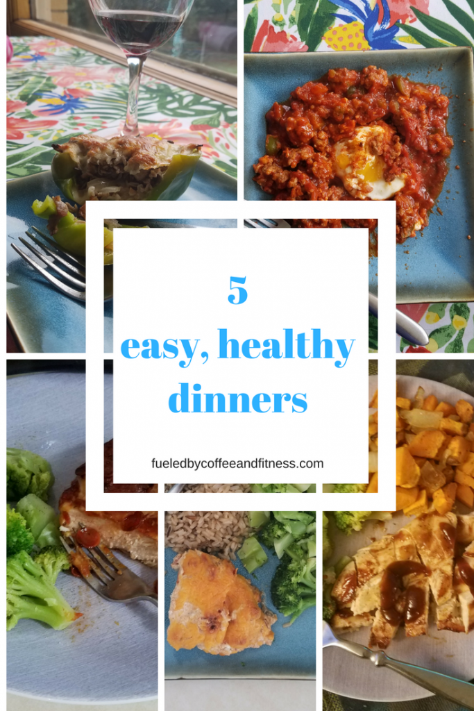 5 Easy, Healthy Dinners