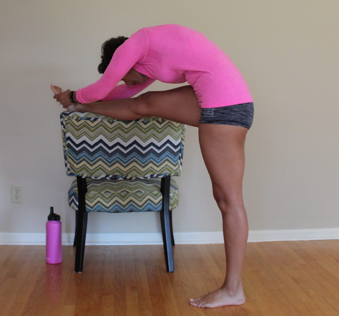 At Home Barre Legs Workout