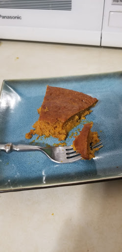 No crust sweet potato pie