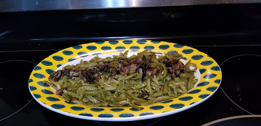 green beans with shallots