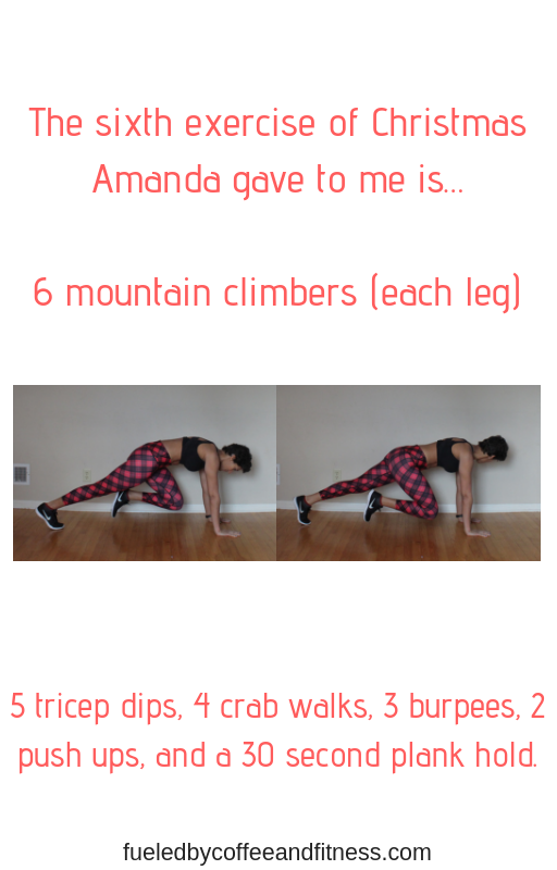 day 6 mountain climbers