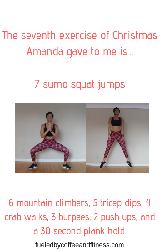 day 7 sumo squat jumps