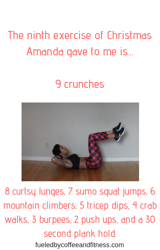 day 9 crunches