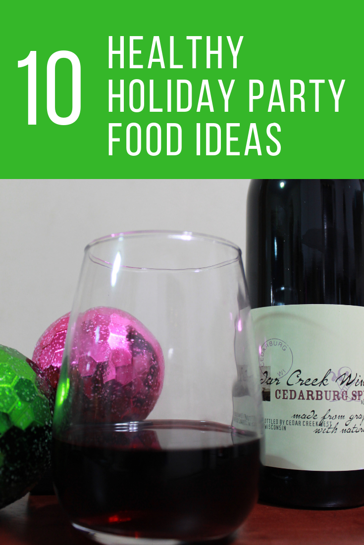 Healthy Holiday Party Food Ideas