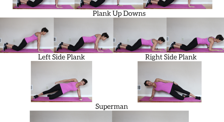 New Year, New You Core Workout
