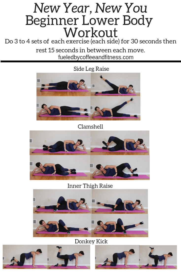 New Year, New You Lower Body Workout